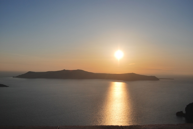 Bienvenidos a la Isla de Santorini