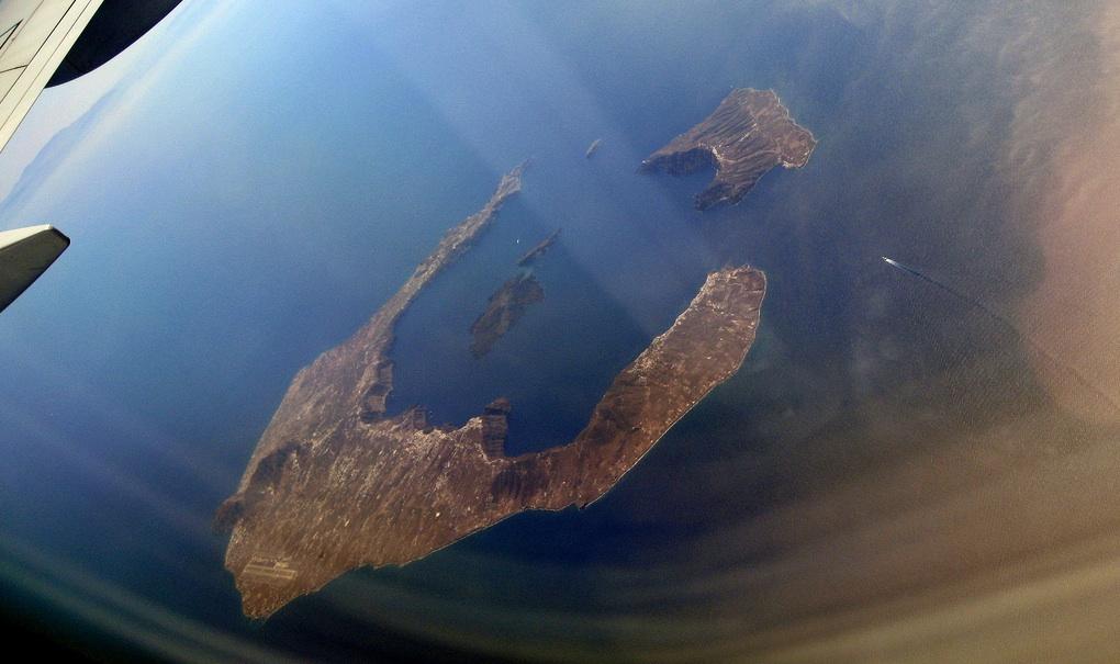 Vuelos a Santorini