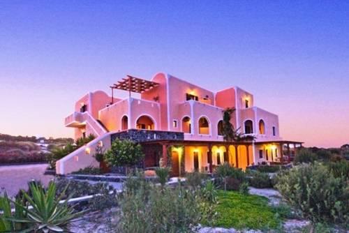Hoteles en Santorini