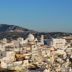 Ciudades y pueblos de Santorini