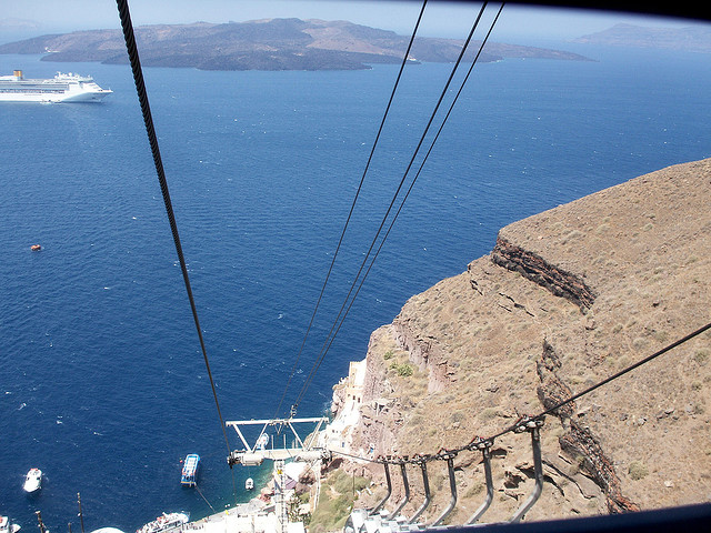 Cómo moverse por Santorini