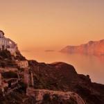 Oia, la puesta de sol más bella de Santorini