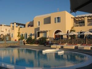 Los B&B pueden competir con muchas ventajas con los hoteles de Santorini. En la foto de  ScottLibert un ejemplo de B&B.